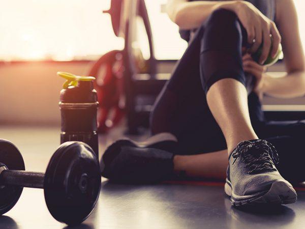 ออกกำลังกายต่อหลังเสริมคาง